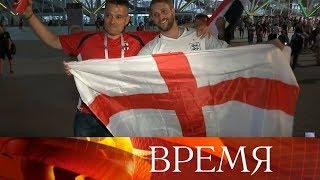 Английские болельщики удивлены оказанным им теплым приемом в России.