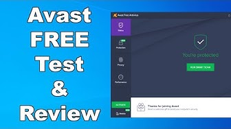 Avast Free Antivirus Test & Review 2020 - Antivirus Security Review - High Level Test
