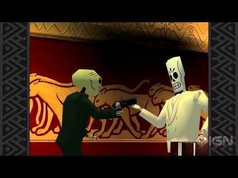 Grim Fandango Remastered Walkthrough - The Maritime Union Part 3