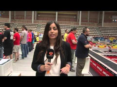 Competición Slot Racing Madrid – Informativos Antena 3 Noticias