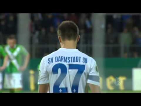 1. Runde DFB-Pokal SV Darmstadt 98 - VfL Wolfsburg - Elfmeterschießen