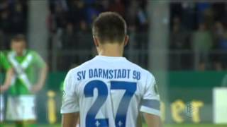 Video Gol Pertandingan Darmstadt 98 vs Wolfsburg