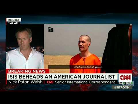 BREAKING NEWS ISIS beheading U.S. journalist James Foley