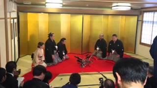 2014年3月26日午前9時23分 大阪法岩寺にて.