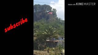 Download Pengibaran bendera raksasa 10x30 meter di bukit kedoya