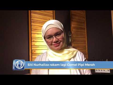 Siti Nurhaliza rakam lagu Comel Pipi Merah