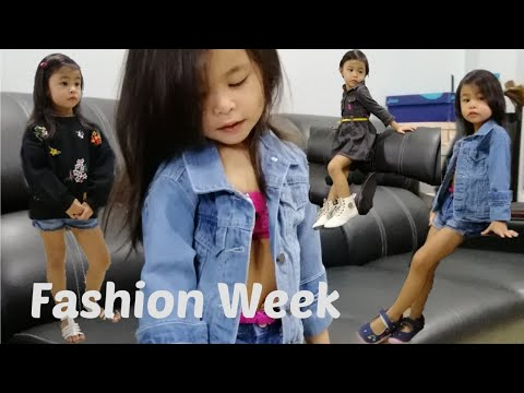 Fashion Week | Fashion Outfit Ideas For Toddler Girl |Mini Model