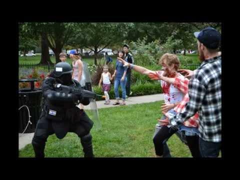 Jesse Cosplays: The Lawrence Zombie Walk. 2014