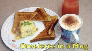 Omelette In A Mug Meals For One Cheekyricho
