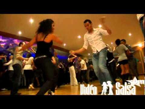 Magna Gopal & François Social Dance @ Monaco Salsa Congress 2010