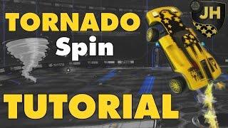 Rocket League | Tornado Spin Aerial Tutorial!