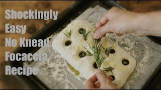 세상쉬운 초간단 무반죽 포카치아 빵만들기이보다 더 쉬운…