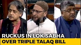 On Triple Talaq Bill, Government, Opposition Clash Again