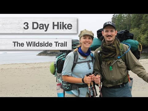 Hiking The Wildside Trail   Flores Island, BC