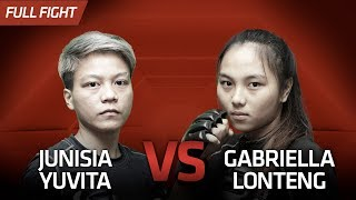 [HD] Junisia Yuvita vs Gabriella Lonteng || One Pride FN #32