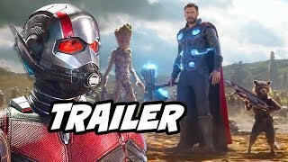 Ant-Man and The Wasp Trailer - Infinity War Time Travel Theory Breakdown