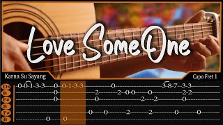 Lukas Graham-Love Someone Cover Fingerstyle | TAB Tutorial