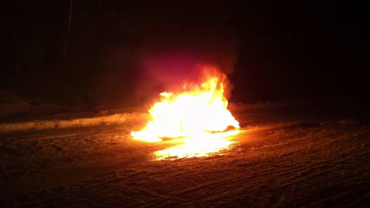 2012 Arctic Cat Z1 1100 Turbo Fire Sno Pro Burning