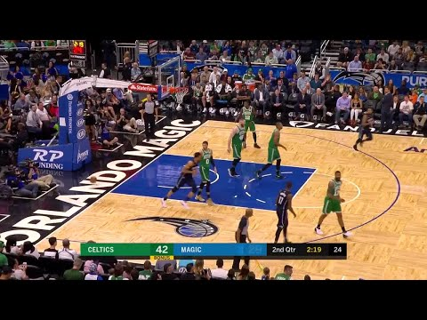 2nd Quarter, One Box Video: Orlando Magic vs. Boston Celtics