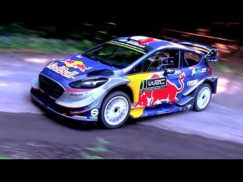 Elfyn Evans | Ford Fiesta WRC | Test Rallye Deutschland 2017