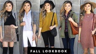 Fall Lookbook | 2017 Fall Outfit Ideas | Fall Fashion | Miss Louie