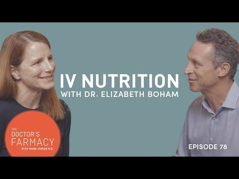 Dr Mark Hyman discusses IV nutrition