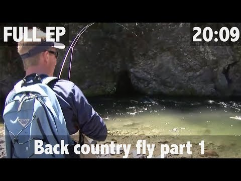 Back Country Fly fishing in New Zealand - Trout - ULTIMATE FISHING TV