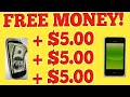 How To Make $5 Free Money Over And Over And Over Again! Passive Income App! Worldwide Mostly!