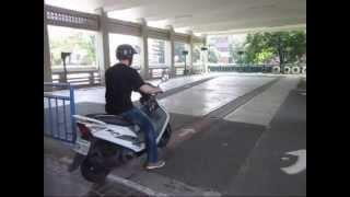 Taiwan Scooter Test, Tainan City