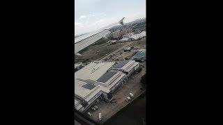 Cebu pacific Landing at Manila Ninoy Aquino International airport