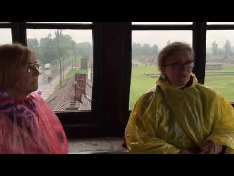Museum guide and Auschwitz survivor confirm IG Farben behind construction of Birkenau camp