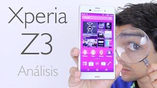 Sony Xperia® Z3: Análisis y Opiniones (en Español)