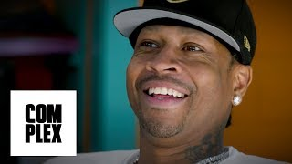 Allen Iverson's Untold Stories of Michael Jordan & Biggie, His Iconic Outfits + more