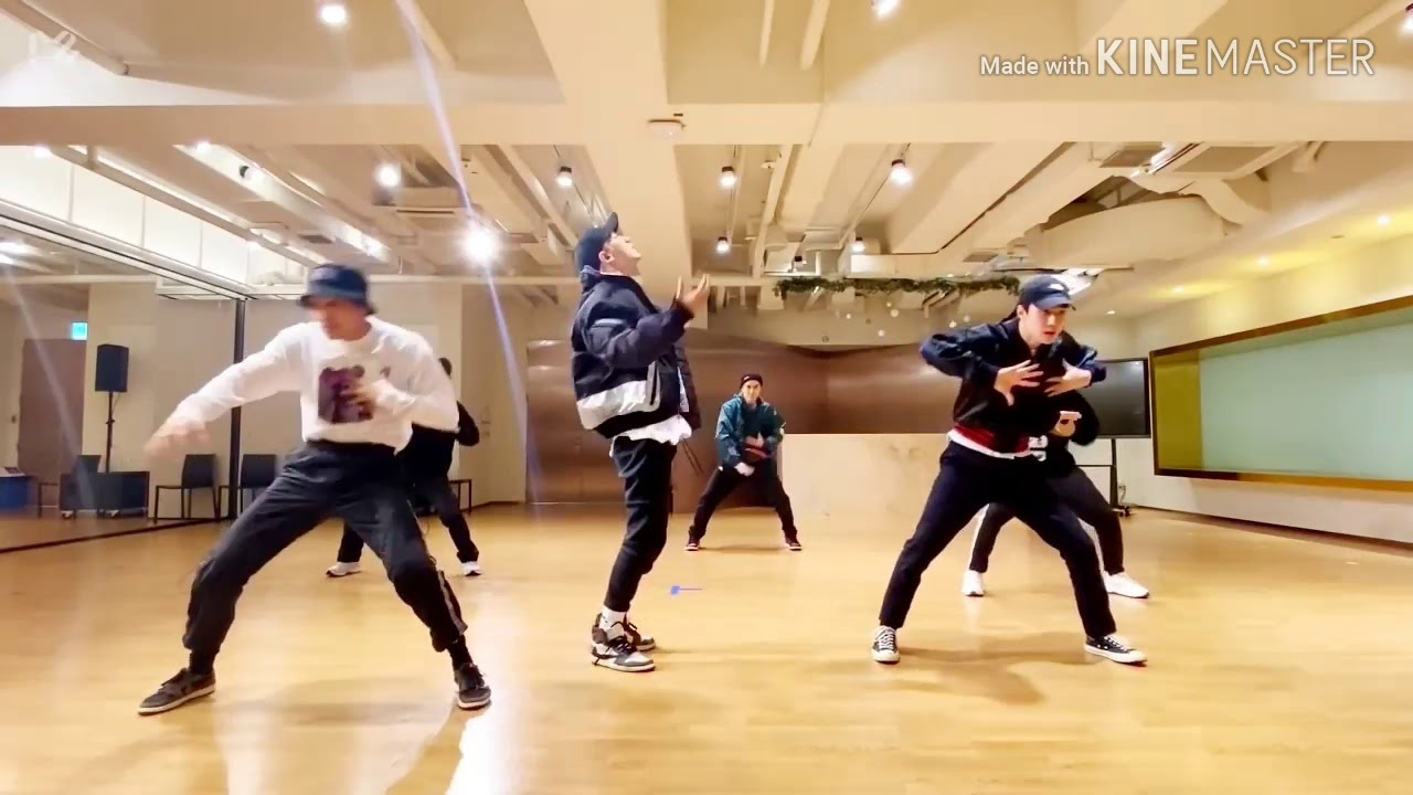 EXO OBSESSION Dance Practice Mirrored Version