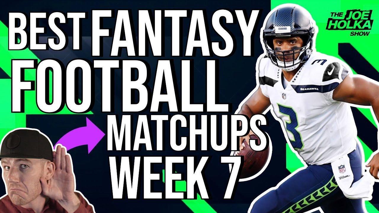 Week 7 Fantasy Football Matchups W Lordreebs Best Fantasy Football Matchups Week 7 Matchups Youtube