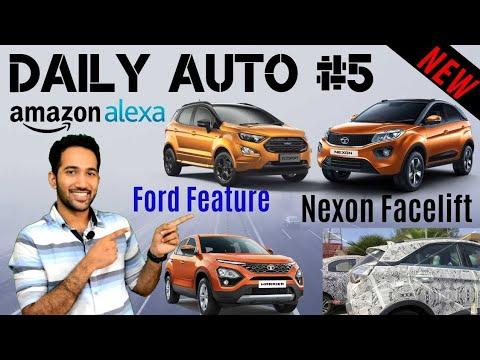 Daily Auto #5 - Tata Nexon Facelift, Tata Price Hike, Hyundai Grand i10, New Ford Feature 🔥🔥