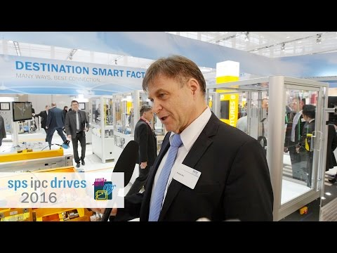 "sps ipc drives 2016: ""Destination Smart Factory"" 