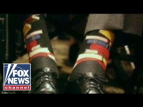 The story behind the socks Bush 41 wore to Barbaras funeral