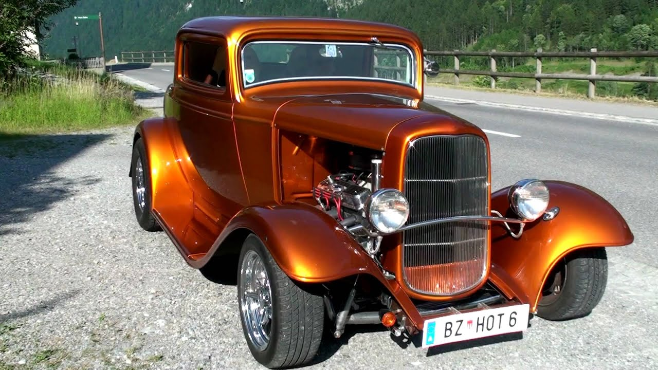 Ford 1932 Hot Rod 001  YouTube