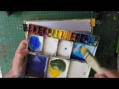 Beginners Aerial Perspective In Watercolour