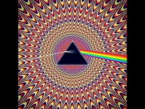 Pink Floyd - Shine on you crazy diamond - Psychedelic Music Video - Trippy Video to watch when high