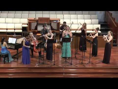 Mary Elizabeth Bowden, Brandenburg Concerto No.2 in F major, BWV 1047, Mvt. I: Allegro