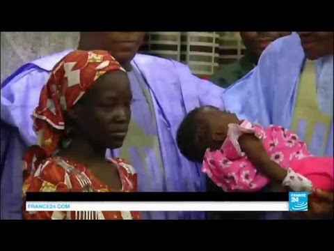 Nigeria: a 2nd Chibok school girl rescued as Nigeria's President meets first found student