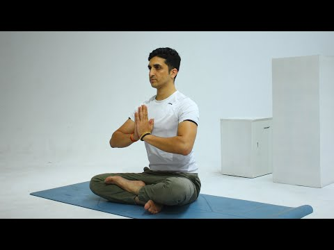 5 Minutes Learn Beginner Yoga with Master Ajay