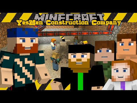 Minecraft SMP | YesMen Construction Company | #3 GENERATING POWER