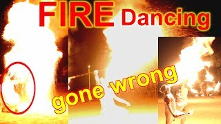 Epic Fire Dancing Gone Wrong In Camaya Coast | May Nasunog Na Dancer?