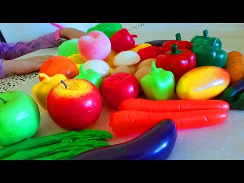 Thumbnail: Kids learning fruits and vegetables names. Nice video