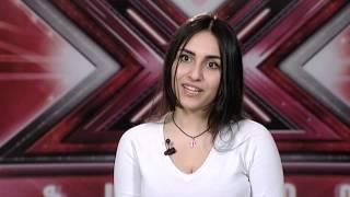 X-Factor4 Armenia-Auditions 9-Inna Sayadyan/Funny Girl musicle  - Don't Rain On My Parade-04.12.2016