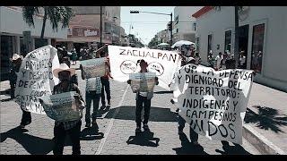 Marcha y cacerolazo por comuneros de Zacualpan