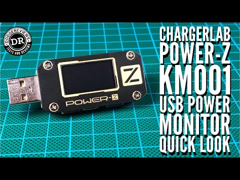ChargerLab Power-Z KM001 USB Power Monitor/Trigger - quick look